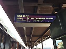 Schweiz Aktuell am Gotthard