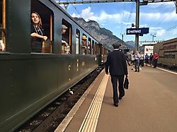 Der Zug steht bereit