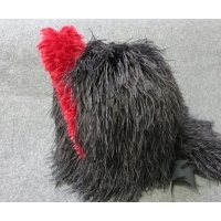 Scottish Highlanders ostrich feather