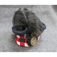 92nd Gordon Highlander feather Bonnet 1815